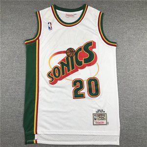 Gary Payton Seattle SuperSonics Jersey